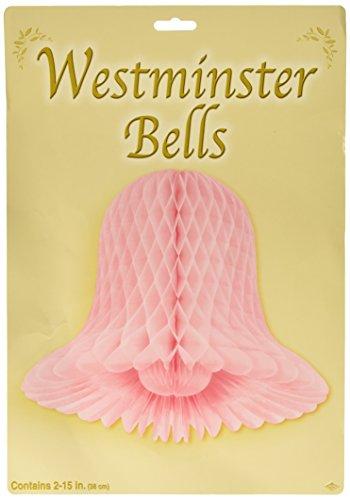 Pkgd Westminster Bells (pink) (2/Pkg) -