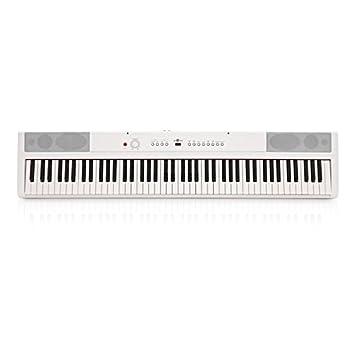 Piano de Escenario SDP-2 de Gear4music Blanco: Amazon.es: Instrumentos musicales