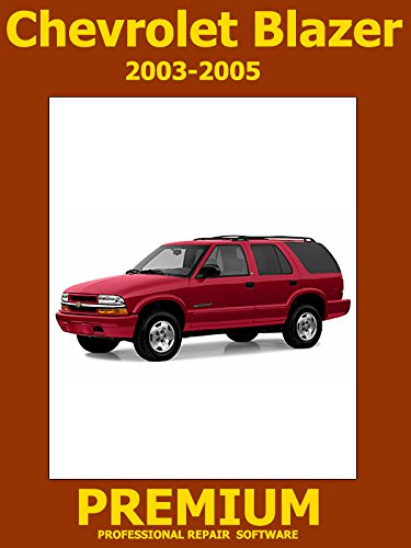 Chevrolet Blazer Repair Software (DVD) 2003 2004 2005