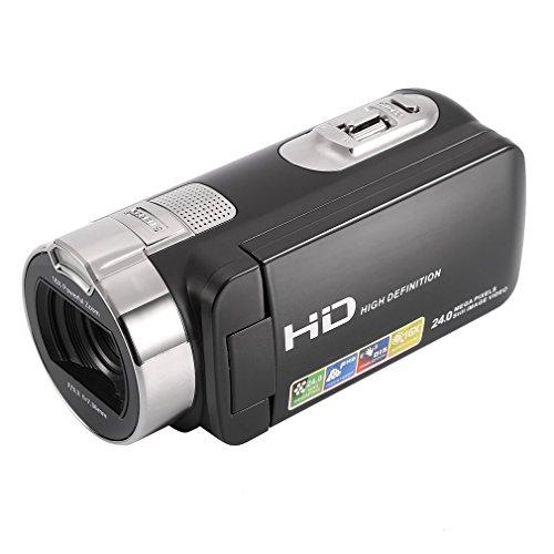 Camera Camcorders, LESHP Portable 1080P 24MP 16X Digital ...