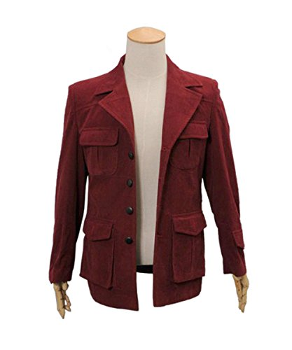 Adults 13th 12th 11th Doctor Series Coat Costume for Halloween (Men M, 4th Doctor Coat)]()
