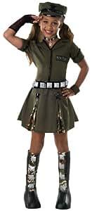 Drama Queens Child's Major Flirt Costume, Large