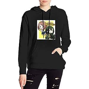 My Hero Academia Boku No Hero Chibi Girls Hoodies Sweatshirt Adult Pullovers for Women