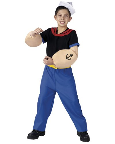 Popeye Costume - Medium (Popeye Arms Costume)