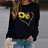 Portazai Womens Christmas Sweatshirts, Women's