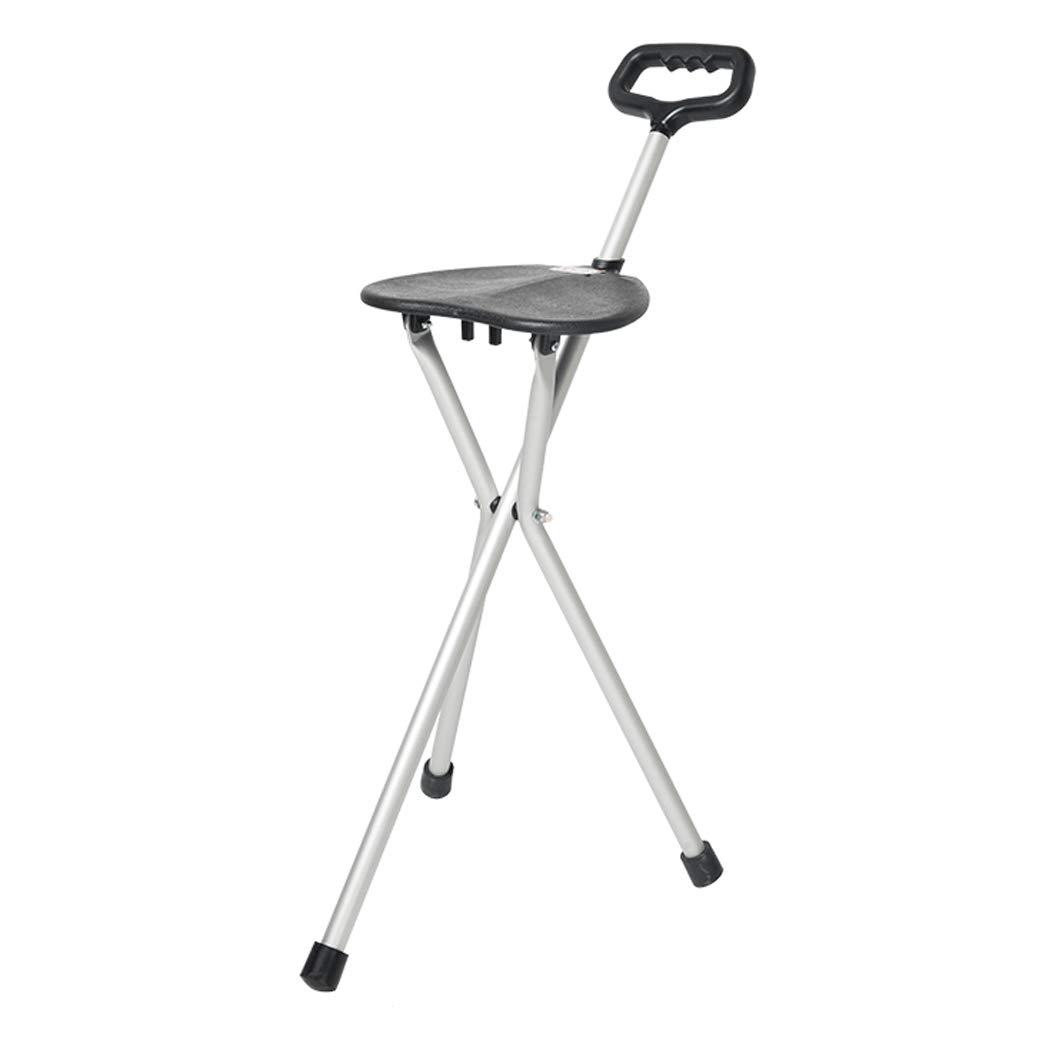 上等な YGUOZ 折りたたみ 杖椅子 軽量,black 杖 高齢者のために B07P9JC67S、ステッキ椅子 調整可能 調整可能 携帯型、LED ライト、アルミ ステッキ 軽量,black black B07P9JC67S, チタグン:e803f782 --- a0267596.xsph.ru