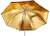 CowboyStudio 33 inch Black and Gold Photo Studio Umbrella