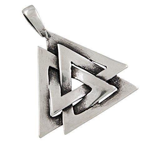 AFP Anhä nger Wotansknoten 925 Sterling Silber AS-409 AFP-Schmuckdesign