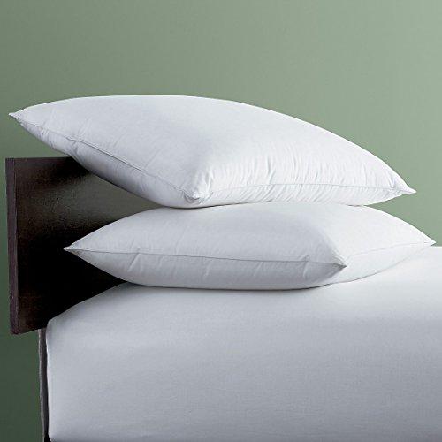 LaCrosse Down Pillow, Standard, - White Std Bed Down Pillow