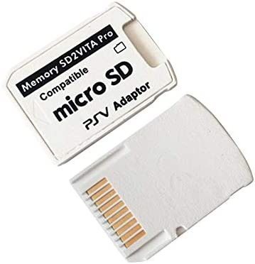SD2VITA Adapter Professional Small Size Version 5.0 SD2VITA Adapter for PS Vita Memory TF Card for PSVita Game Card1000//2000 PSV Adapter