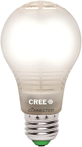 Cree BA19-08027OMF-12CE26-1C100 Connected 60W Equivalent Soft White 2700K A19 Dimmable LED Light Bulb