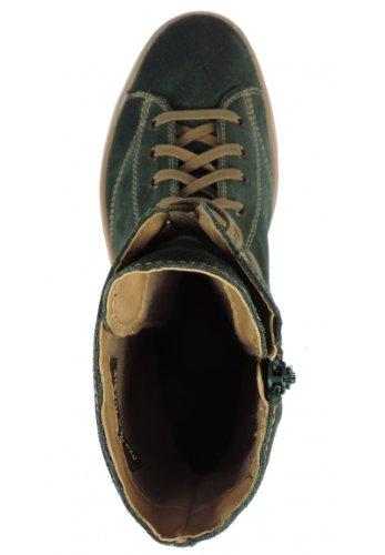 Marco Tozzi 25240-21 - Botas de ante para mujer verde - verde