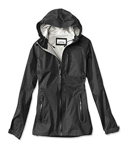 Orvis Women's The Hatch Rain Jacket, Black, Medium