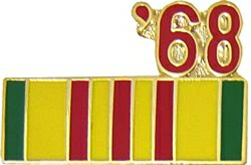 '68 Vietnam Year Lapel Pin or Hat Pin