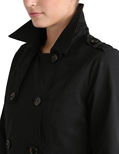 Trench Ceinture Schwarz Femme Noir Berydale avec Coat 4nvxT1Iq5