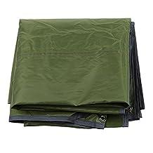 MagiDeal Outdoor 3-4 Person Waterproof Camping Picnic Beach Tent Tarp Canopy Awning Pads Sleeping Mat Ground Sheet