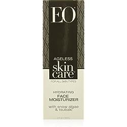EO Ageless Skin Care Hydrating Face Moisturizer with Snow Algae & Tsubaki, 2 Ounce