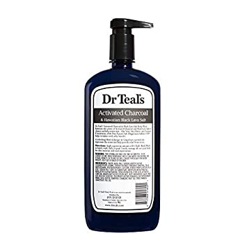 Dr Teal s Activated Charcoal Lava Body Wash, 24 oz Pack of 4