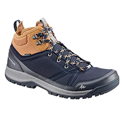 get cheap purchase cheap quality Quechua NH150 Mid Men's Waterproof Walking Boots - Blue Brown: Buy ...
