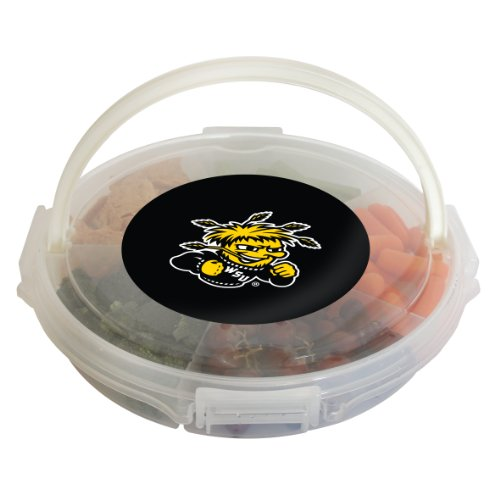 NCAA Wichita State Shockers Food Caddy, Clear