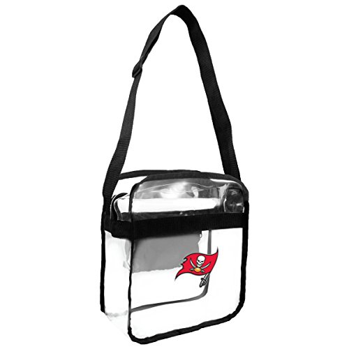 NFL Tampa Bay Buccaneers Clear Carryall Crossbody Purse