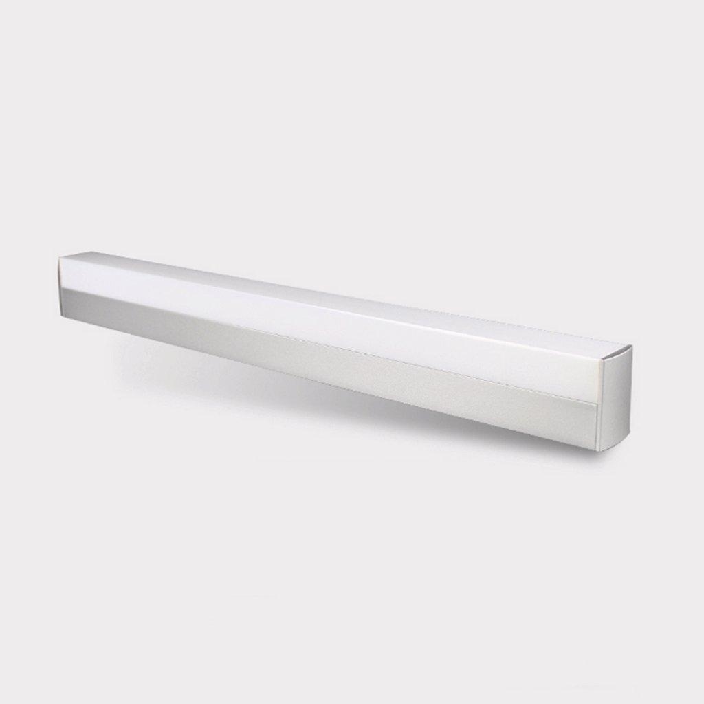 popa Bad-Beleuchtung Spiegel-vordere Lichter, LED-Spiegel-Scheinwerfer, einfaches modernes Badezimmer-Badezimmer-Wand-Lampe, Dresser-Verfassungs-Lichter Spiegelfrontlicht ( Farbe : Warmweiß -10w50cm ) popa-jingqiandeng