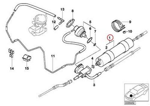 Amazon Com Bmw Oem Fuel Filter For Alpina V8 M5 Z8 E39 E52 M5