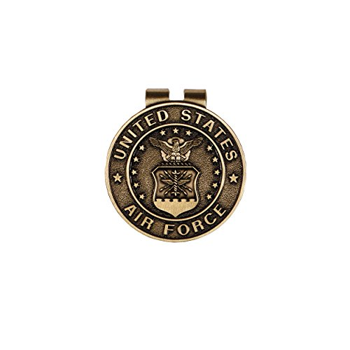 United States Air Force Bronze Military Money Clip