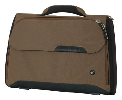 O-Range Borsa Messenger, Gate, marrone - marrone, Small Briefcase braun