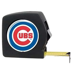 MLB Chicago Cubs 25' Black Tape Measure