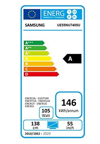Samsung 55NU7405 - Smart TV de 55