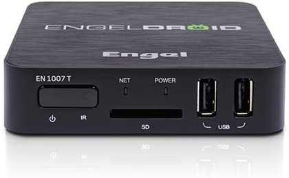 Engel EN1007T - Receptor Android (1 GHz, 1 GB, DDR3, Full HD, HDMI, USB, SDHC, SD, MS, MMC, ETH, WiFi): Amazon.es: Electrónica