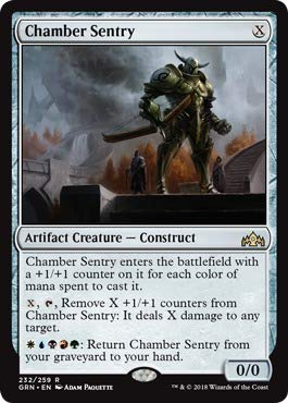 Amazon.com: Magic: the Gathering - Chamber Sentry (232/259 ...
