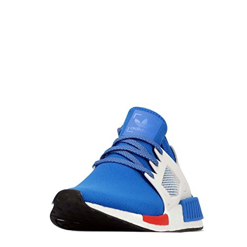 adidas Originals NMD_XR1 Mens Running Trainers Sneakers Shoes (US 7, Blue Bird-Vintage White-Red CG3092)