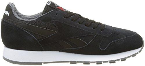 Fitnessschuhe NM White Herren Schwarz Reebok CL Leather Black Schwarz SxnFwWPHWA