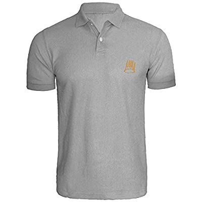 Loo Show Mens TDreamville Records J Cole Crown Logic Embroidered Polo Shirts Men Shirts