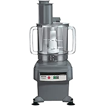 "Waring FP2200 6-Qt. Batch Bowl and Continuous-Feed Food Processor, 120V, 26.5"" Height, 16"" Width, 12"" Length"
