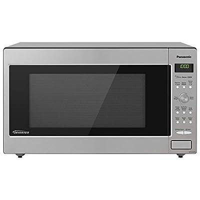 Panasonic NN-SN936W Countertop Microwave with Inverter Technology