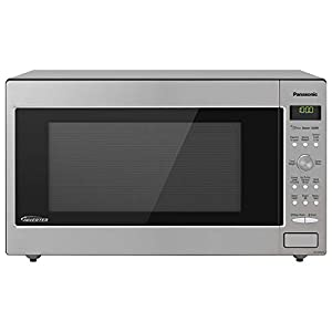 Panasonic Microwave Oven NN-SD945S Stainless Steel Countertop/Built-In with Inverter Technology and Genius Sensor, 2.2…