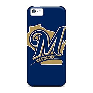 Cynthaskey YlGbjuQ6913MLfRc Case Cover Iphone 5c Protective Case Baseball Milwaukee Brewers 1