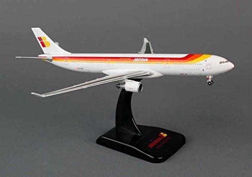 Hogan 400 Scale DIE-CAST HG5422 Hogan Iberia A330-300 1-400 New Livery REG No.EC-LUK (A330 New 300 Livery)