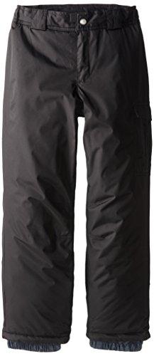 White Sierra Girl's Cruiser Snow Pant (Black, Large) - Girls Snow Pants