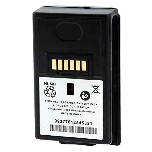 Theo&Cleo Black 3600mAH Replacement Battery For Xbox 360 Controller