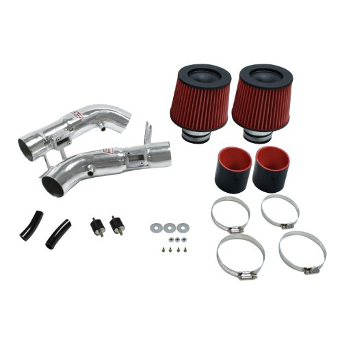 (DC Sports SRI4205 Polished Short Ram Intake System with Filter and Installation Hardware)