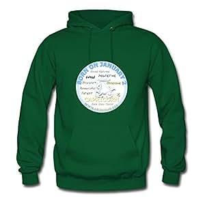 January 2nd Birthday Chic X-large Sweatshirts Personalized For Women Green