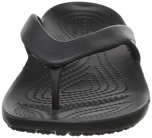 II Women Noir Flip Kadee Crocs Black Tongs Femme 57xtqwRUwW