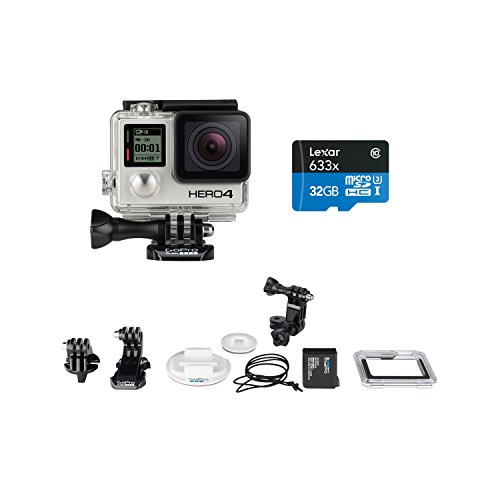 GoPro HERO4 SILVER Surf Bundle with Memory Card