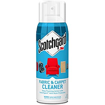 Scotchgard Fabric & Carpet Cleaner, 1 Can, 14-Ounce