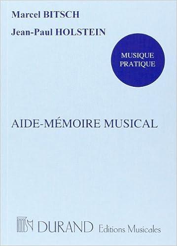 Lire un Aide-mémoire musical - Livre pdf, epub ebook
