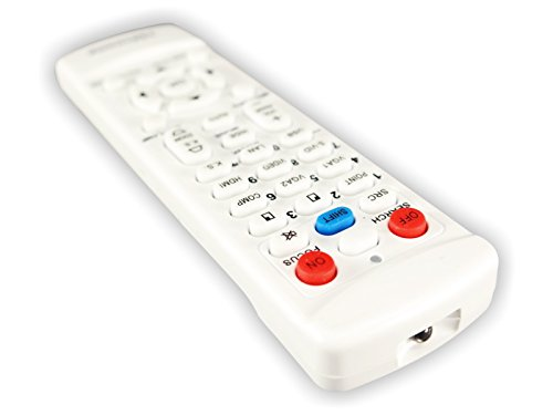 BenQ MH530 TeKswamp Video Projector Remote Control (White) by Tekswamp (Image #2)